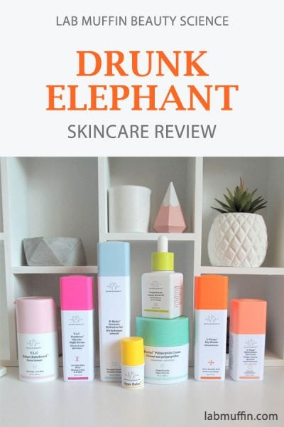 Drunk Elephant Skincare Review Part 1
