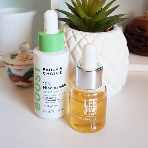 My Current Evening Skincare Routine: Niacinamide