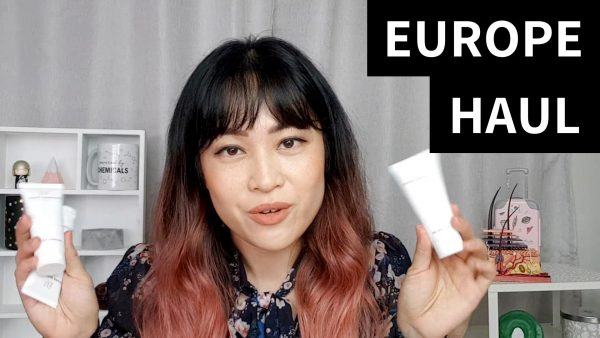 Europe Product Haul (Video)