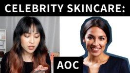 Reviewing Alexandria Ocasio-Cortez's Skincare Routine (Video)