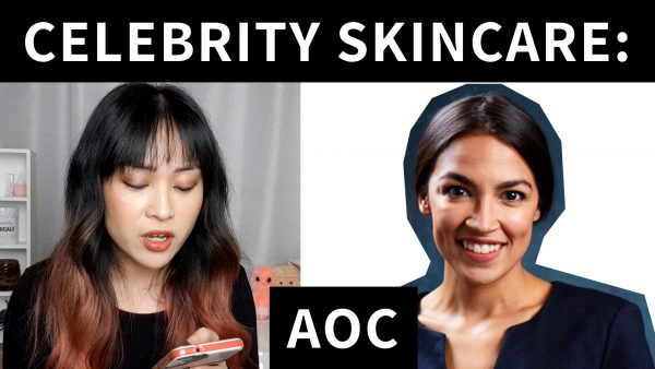 Reviewing Alexandria Ocasio-Cortez's Skincare Routine (Video)