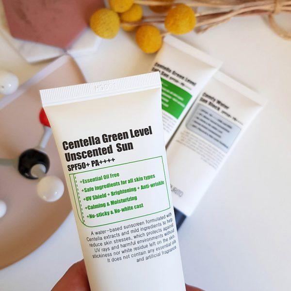 Purito Sunscreen Review: Centella Green Level Unscented Sun