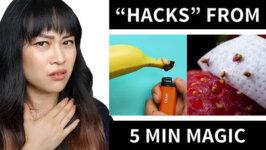 Re-explaining 5 Minute Magic's Beauty Tips (Video)