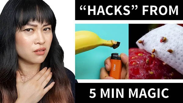 Re-explaining 5 Minute Magic's Beauty Tips (Video)