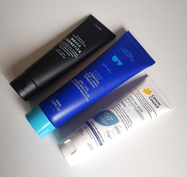 Australian sunscreens
