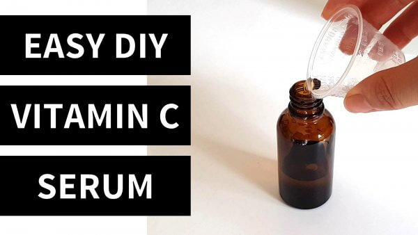 Easy (5 Minute) DIY Vitamin C Serum Recipe