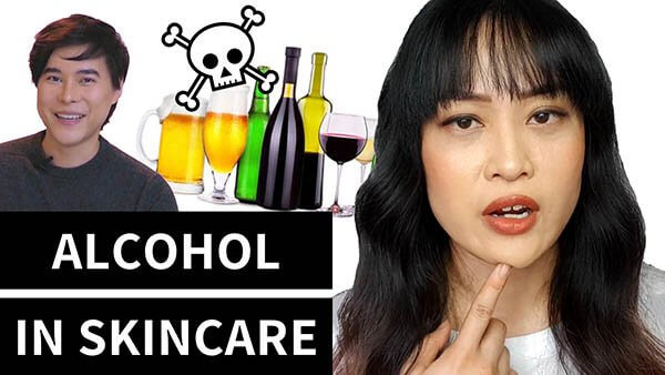 How Bad Is Alcohol in Skincare, Really? The Science (video with KindofStephen)