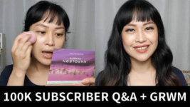 100K Subscriber Q&A and Get Ready With Me (Video)
