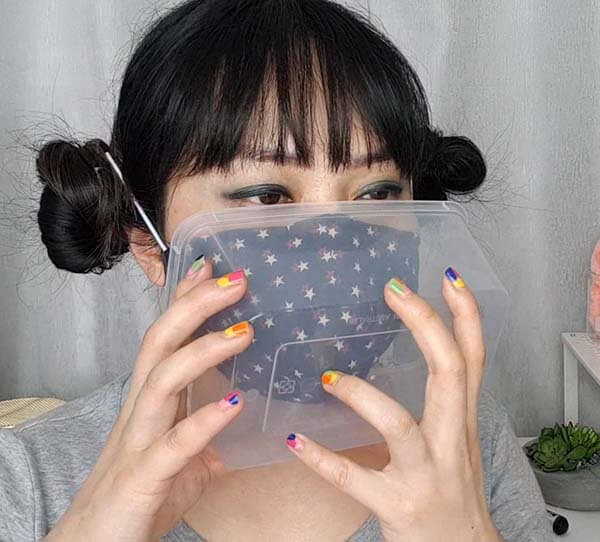 Container hack for reusing a mask