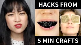 "Breaking Down 5 Minute Crafts ""Viral"" Beauty Hacks (Video)"