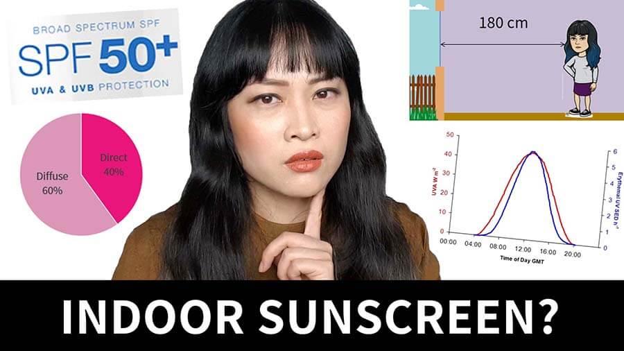Do you need sunscreen indoors?