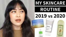 2019 vs 2020 Skincare Routine: Approach and Products (Video)