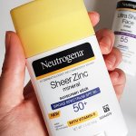 Neutrogena Sheer Zinc Mineral Sunscreen Stick