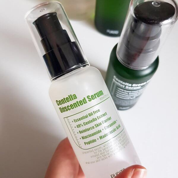 Purito Centella Unscented Toner and Serum review