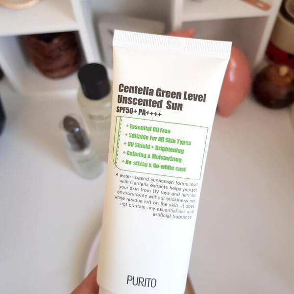 Purito Unscented Centella Sunscreen