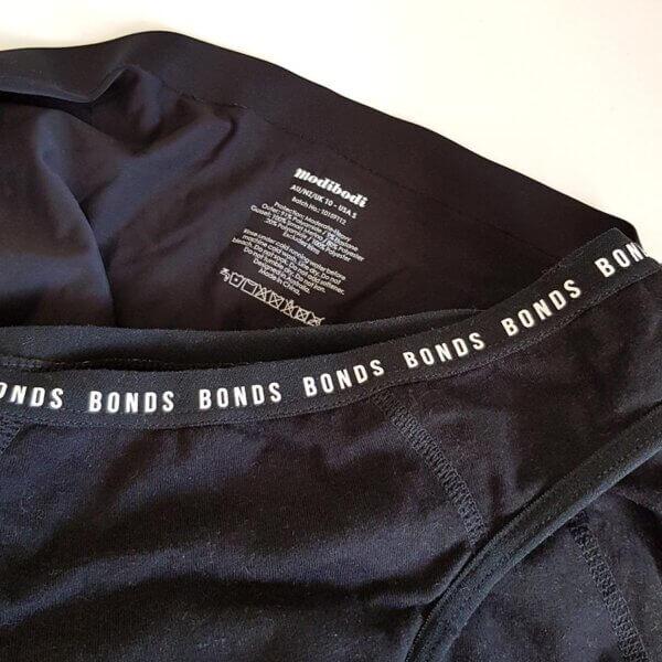 Period undies review: Modibodi and Bonds