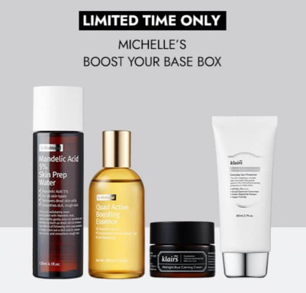 Wishtrend Collaboration Boost Your Base Box