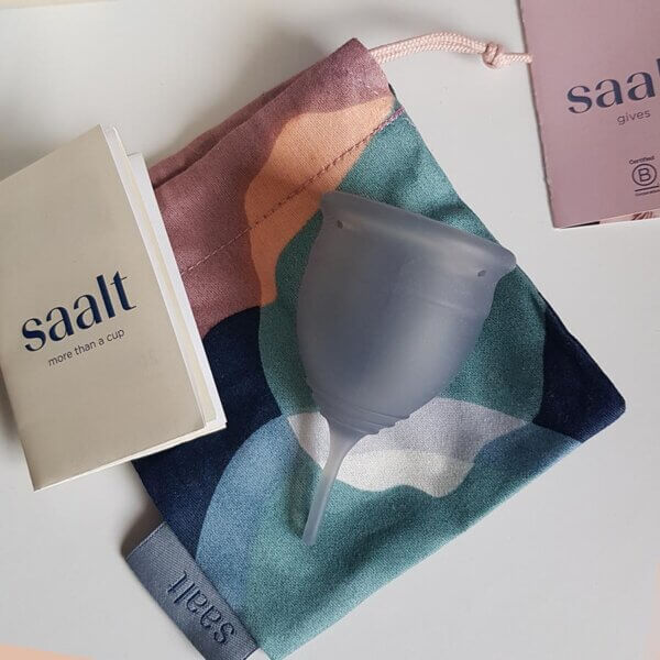 Reusable menstrual product reviews: Saalt cup, Love Luna pads