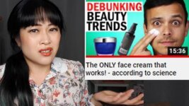 The Only Skincare That Works According to Science? ASAP Science video response