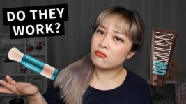 """Do They Work? Colorescience SPF Powder, Skinnies """"Pea-Sized Amount"""" (with video)"""