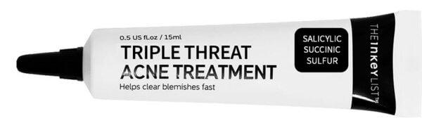 inkey triple threat acne