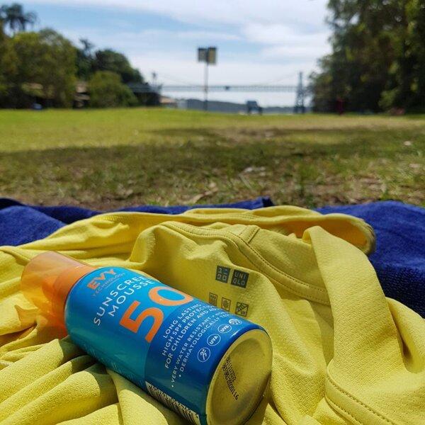 Evy sunscreen