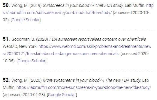 Various propaganda sources citations