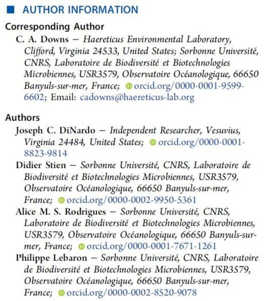 Study authors