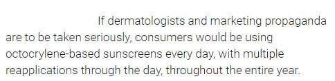 dermatologists and marketing propaganda