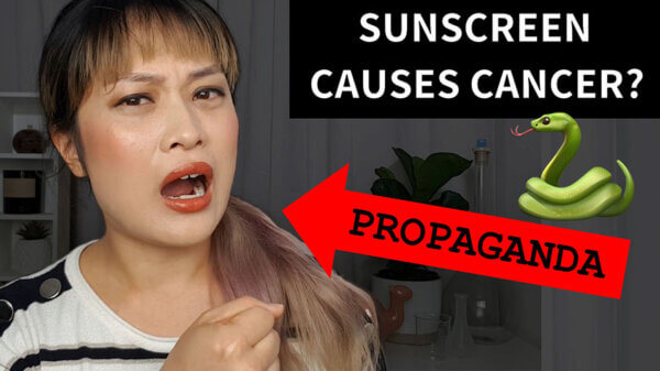 Octocrylene Causes Cancer? and I'm Propaganda Now (with video)