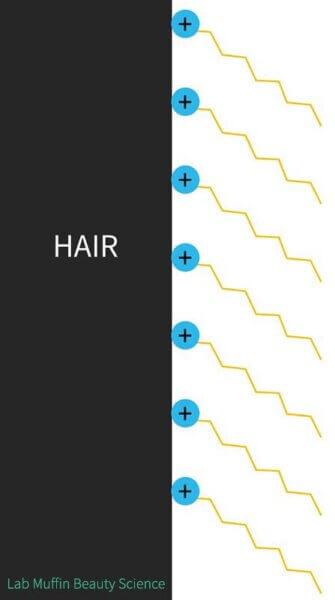 Hair adsorption cationic conditioner