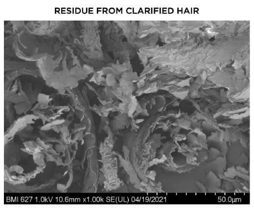 Pantene Microscope No Silicone Residue
