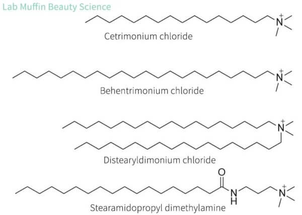 cationic conditioner structures