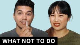 Fixing My Boyfriend's Horrifying Skincare Routine (video)